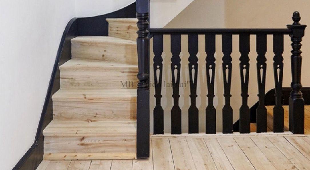 Laiptu turėklai klasikiniams laiptams