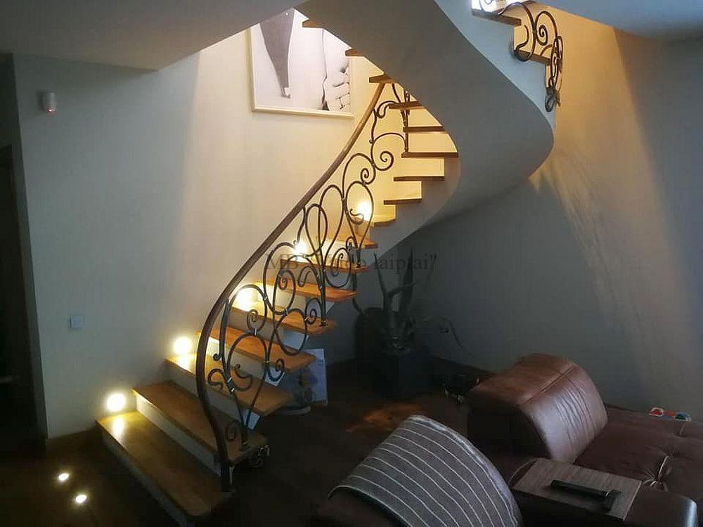 Laiptu gamyba, laiptai, laiptai mediniai