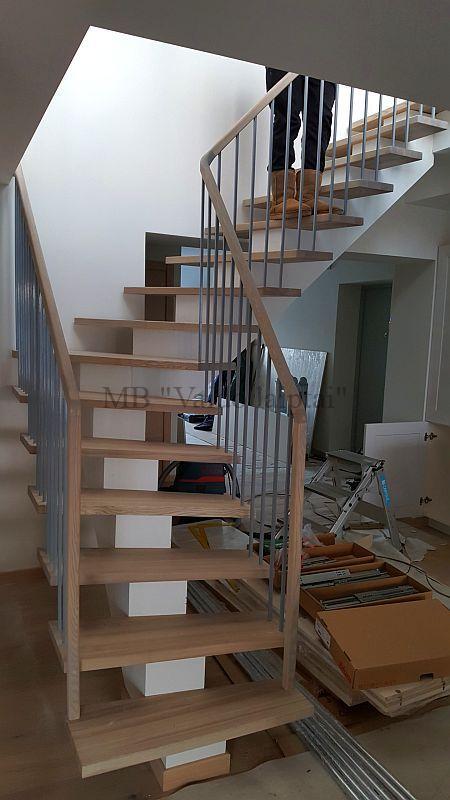 Laiptu gamyba, laiptai, lauko laiptai