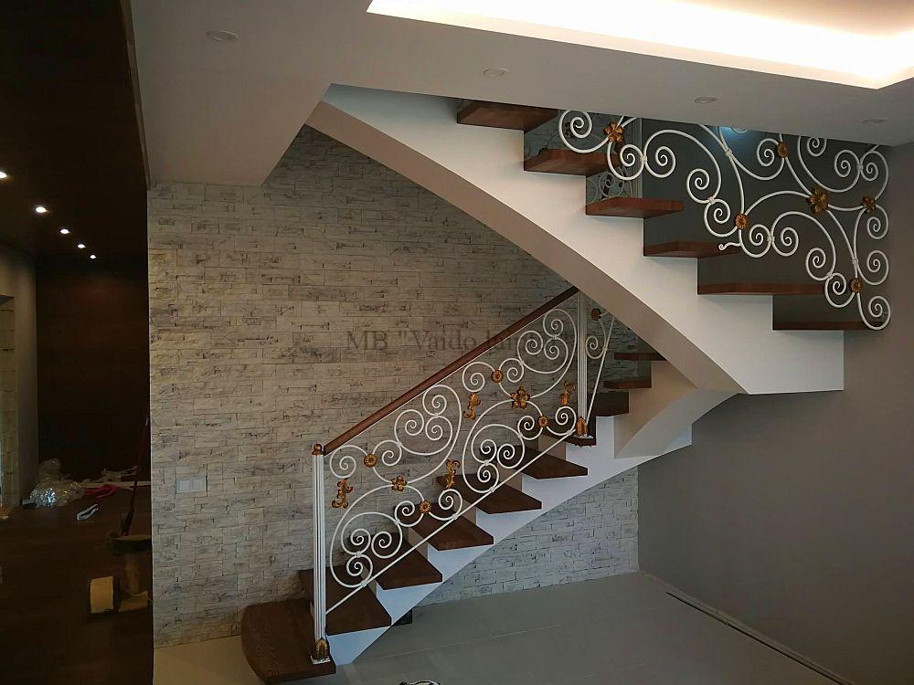 Laiptu gamyba, laiptai, moduliniai laiptai