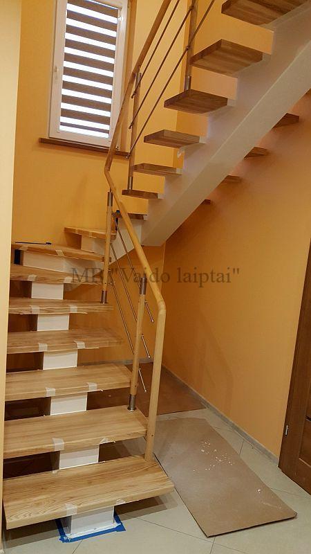 Laiptu gamyba, laiptai, palepes laiptai