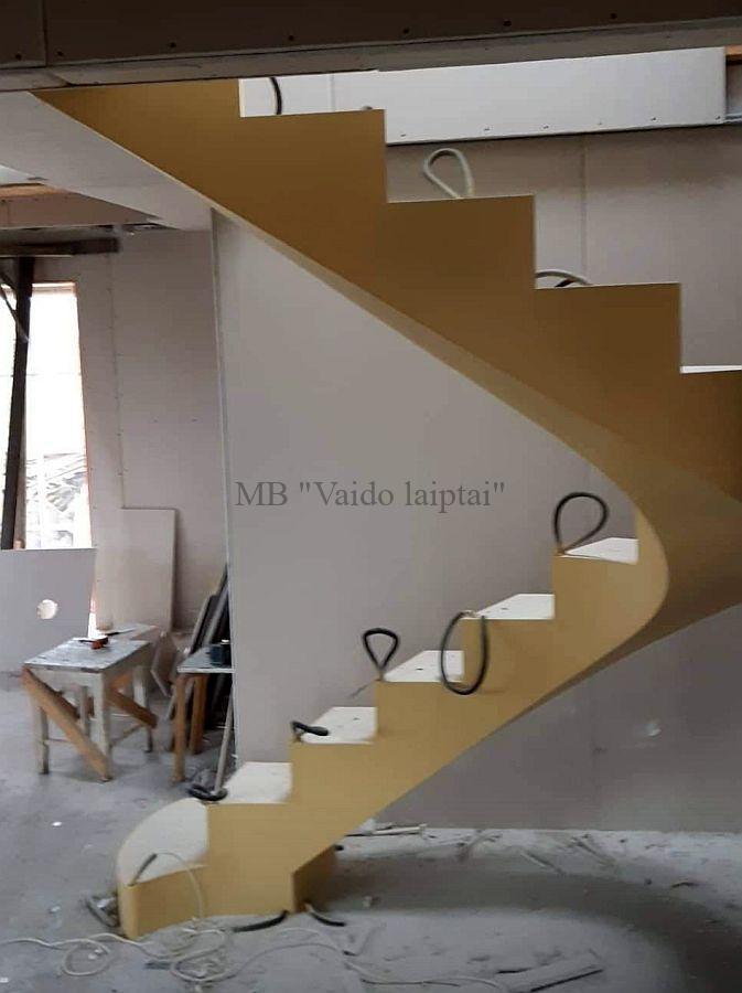 Laiptu karkasas, laiptai, laiptu gamyba, laiptu pakopos, metaliniu laiptu konstrukcijos