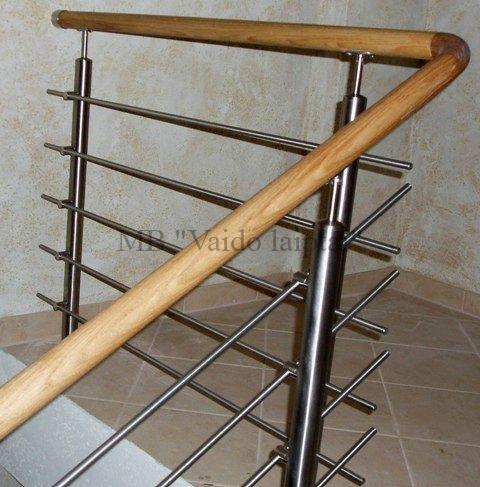 Laiptu turėklai, tureklu gamyba, metaliniai turėklai laiptams