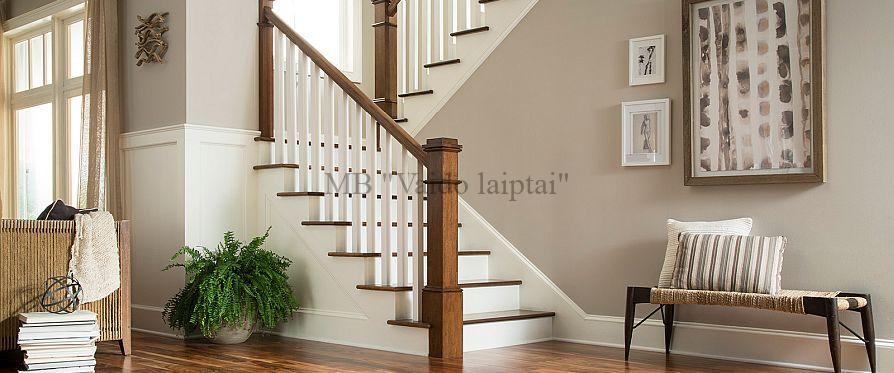 Mediniai laiptai, palepes laiptai
