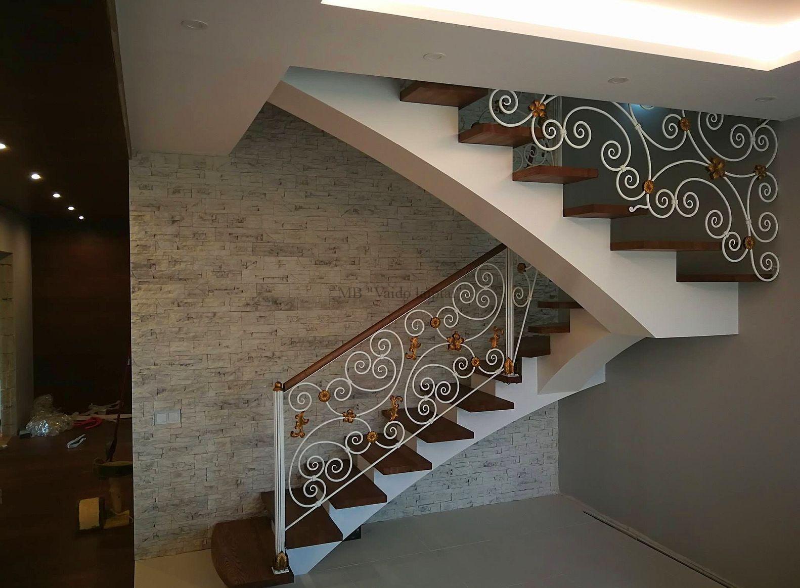 moduliniai laiptai, sukti laiptai