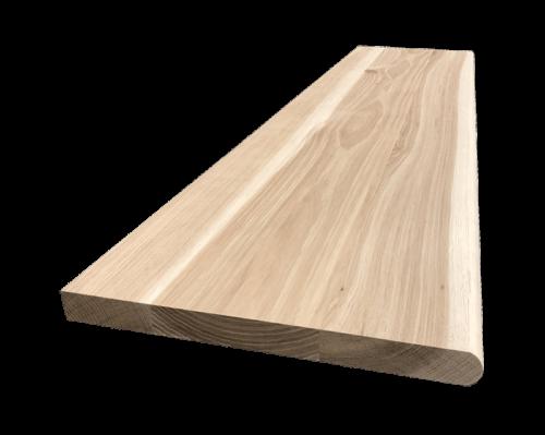 Ąžuolinės laiptu pakopos 4x30x95 cm