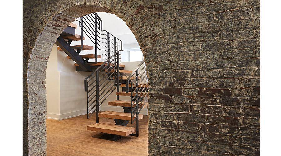 Vidaus laiptai Provenance stiliaus