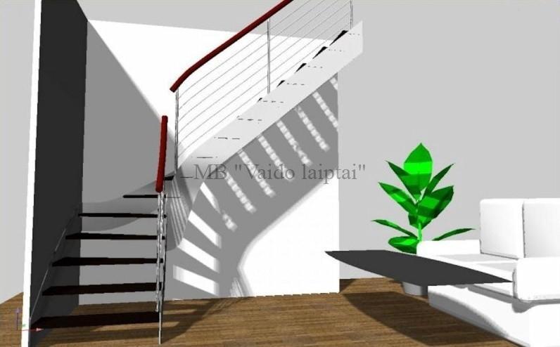 Laiptų gamyba, projektavimas ir montavimas