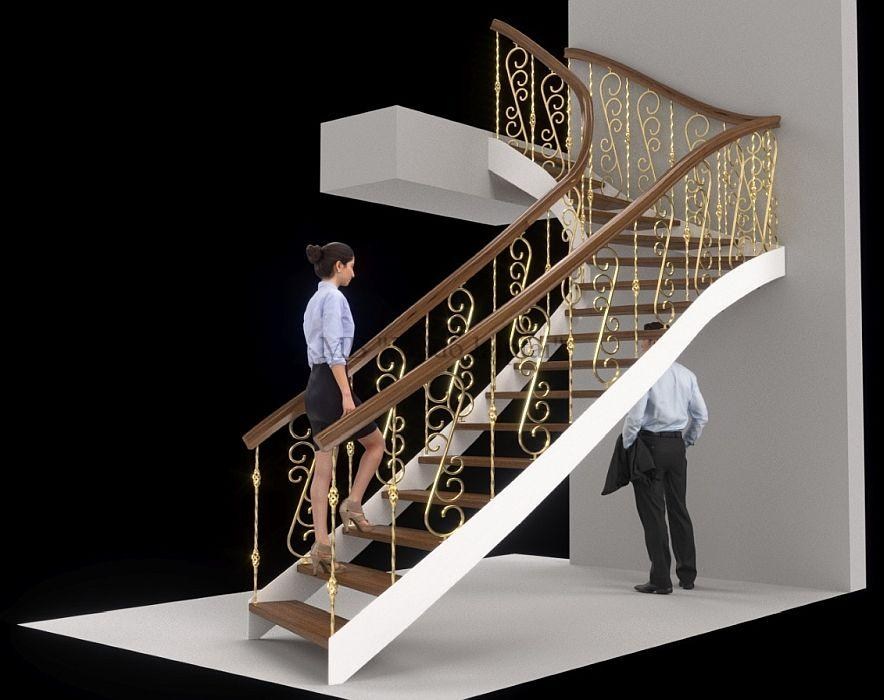 Manufacture and export of wooden stairs