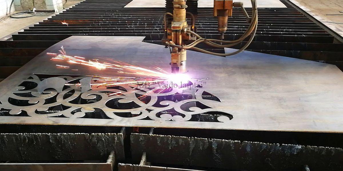 Kur naudojamas metalo pjovimas plazma?