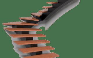 MB Vaido laiptai Centrinis karkasas