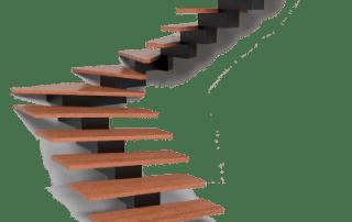 MB Vaido laiptai Krokodilinis metalinis karkasas